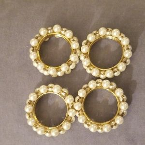 4 Napkins Rings